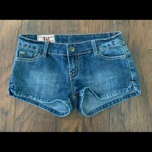 1st Kiss Denim Shorts